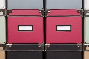 Red Storage Boxes - Total Storage Self-Storage - Storage Winnipeg