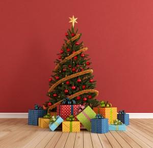 Holiday Tree and Presents - Total Storage Self-Storage - Winnipeg Storage