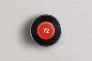 Modern Digital Thermostat - Total Storage Self Storage - Storage Winnipeg