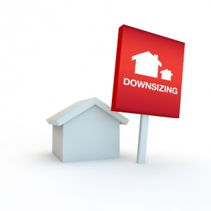 downsizing home to a smaller one