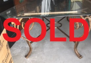 sold table