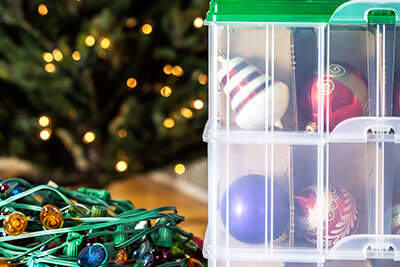 Holiday Decorations - How Much Can You Fit in A 5x5 Storage Unit - Winnipeg Self Storage | Total Storage