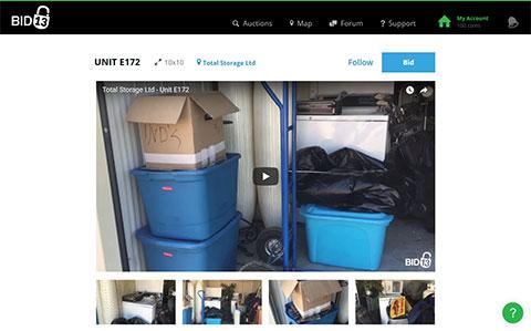 Bid13 Online Storage Unit Auction website - How to Find Our Online Storage Unit Auctions - Total Storage Winnipeg